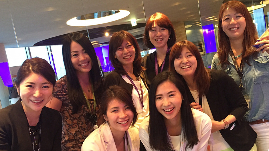 Women at TR Japan members